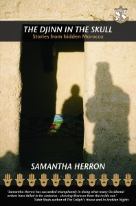 Book cover for The Djinn in the Skull: Stories from hidden Morocco